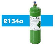 R134a (0.9kg) - Czynnik Chłodniczy z Butlą - zdjęcie