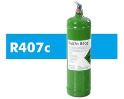 R407c (0.85kg) - Czynnik Chłodniczy z Butlą - zdjęcie