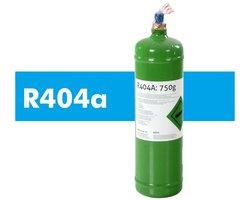 R404a (0.75kg) - Czynnik Chłodniczy z Butlą - zdjęcie