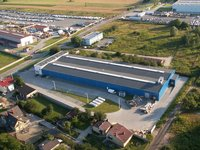 T.El. POLAND - biurowiec wraz z halą produkcyjną. Kalisz ul. Metalowców - zdjęcie