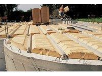 Stropy systemowe RECTOLIGHT - Dopasowany (foto: RECTOLIGHT idealnie dopasowany na budowie) - zdjęcie