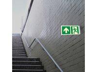 Znak przestrzenny wyjście ewakuacyjne - zdjęcie