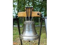 Dzwon o wadze 40kg wykonany dla kolekcjonera we Francji - zdjęcie