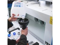 Laser CO2 - Seria B - Uzupełnianie wody w agregacie chłodniczym - zdjęcie