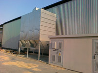 2012 Zakład produkcji palet CMC wraz z częścią biurowo-socjalną w Andrychowie (Rozwiązania: Projekt wykonawczy i realizacja z zakresie klimatyzacji, Wentylacji, Instalacji odpylania, Automatyki) - zdjęcie