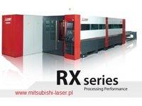 wycinarka laserowa Mitsubishi RX CF-R, technologia cross-flow - zdjęcie