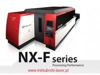 wycinarka laserowa Mitsubishi NX-F, technologia fiber - zdjęcie