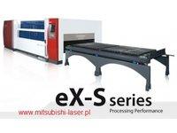 wycinarka laserowa Mitsubishi eX-S 32 XP, technologia cross-flow - zdjęcie