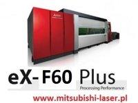 wycinarka laserowa Mitsubishi eX-F60, technologia fiber - zdjęcie