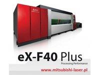 wycinarka laserowa Mitsubishi eX-F40, technologia fiber - zdjęcie