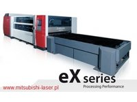 wycinarka laserowa Mitsubishi eX 45 CF-R, technologia cross-flow - zdjęcie