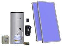 Instalacje solarne: Zestaw solarny 2KS2100-TAC-200-ECO 92.49.03 HEWALEX - zdjęcie
