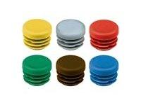 Wkładki do rurek okrągłych — różne kolory - zdjęcie