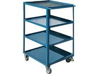 Meble warsztatowe - Wózek narzędziowy WN / RAL 5010 - zdjęcie