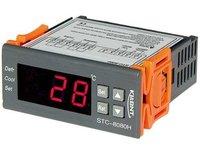 Elektroniczny sterownik, regulator chłodniczy STC 8080H! 12V DC - zdjęcie