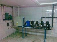 Instalacja chłodnicza małego sklepu - zestaw sprężarek - zdjęcie