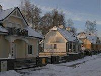 Osiedle domków 'Panorama' w Kościelnej Wsi ul. Widokowa - zdjęcie