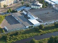 Zakłady Przemysłu Jedwabniczego 'WISTIL' w Kaliszu, ul. Majkowska 13 - hala produkcyjna - zdjęcie