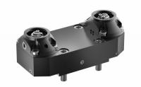 Zespoły mocujące dwupozycyjne i offsetowe zapewniają dużą elastyczność przy konfigurowaniu dzisiejszych wieloosiowych i wielowrzecionowych tokarek CNC z osią Y