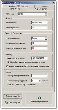 Termometr z GSM TG11 firmy Test-Therm