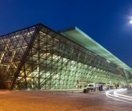 Terminal T4, Lotnisko Kraków-Balice, Aluptof