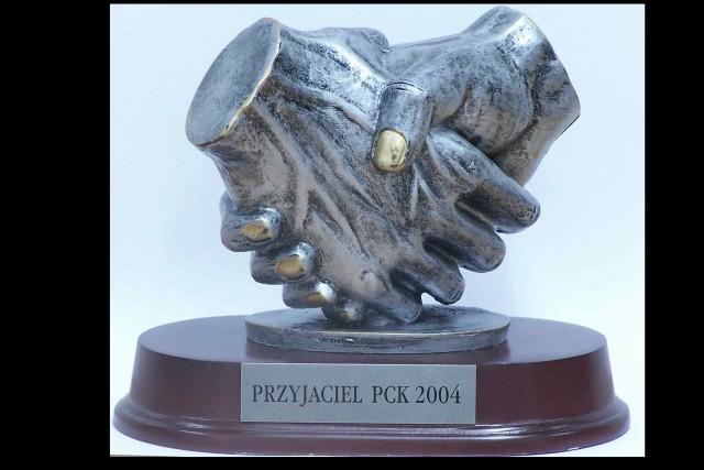 Przyjaciel PCK 2004  Śnieżka