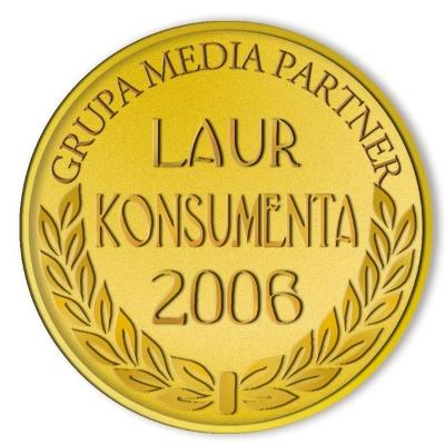 Złote Godło Laur Konsumenta 2006 Śnieżka