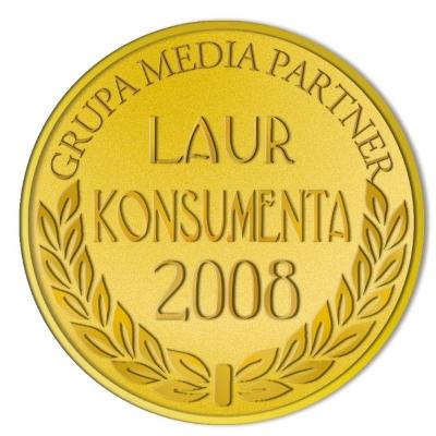 Złote Godło Laur Konsumenta 2008 Śnieżka
