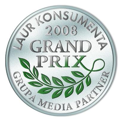 Medal Grand Prix - Laur Konsumenta 2008 Śnieżka
