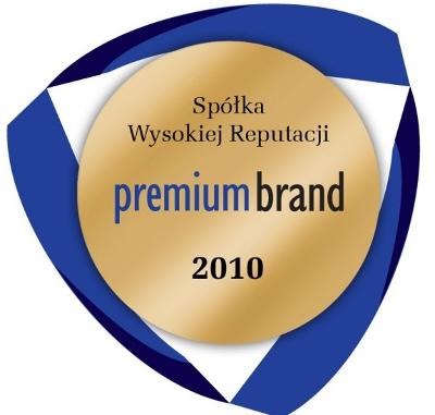 Premium Brand Spółka Wysokiej Reputacji 2010