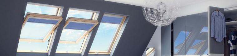 Okna dachowe obrotowe, FAKRO