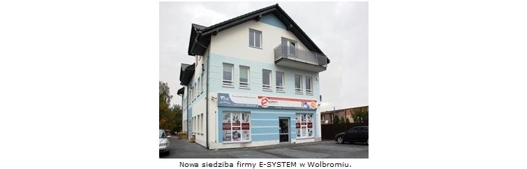 nowa siedziba firmy E-System w Wolbromiu