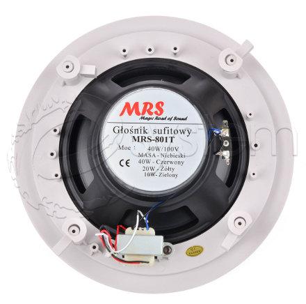 Dwudrożny głośnik sufitowy MRS-801T fot. E-SYSTEM