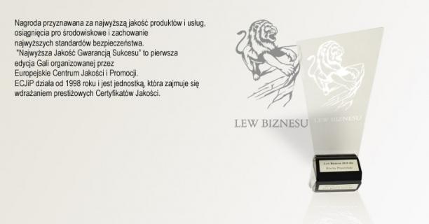 Lew Biznesu  firmy Blachy Pruszyński
