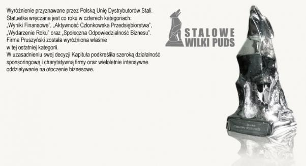 Stalowy Wilk PUDS firmy Blachy Pruszyński