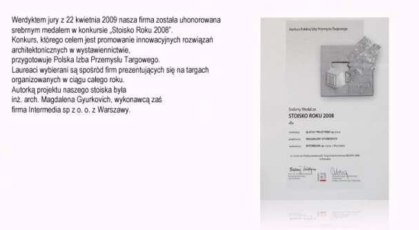 Stoisko Roku (Targi Budma) firmy Blachy Pruszyński