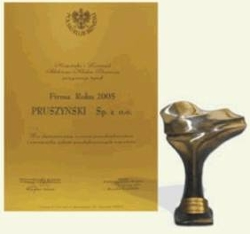 Nagroda Polskiego Klubu Biznesu firmy Blachy Pruszyński