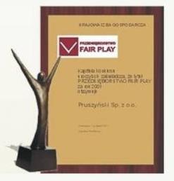 Przedsiębiorstwo Fair Play firmy Blachy Pruszyński