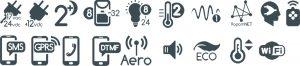 NeoGSM-IP-PS Centrala alarmowa z komunikacją GSM/IP (Wbudowane WI-FI).