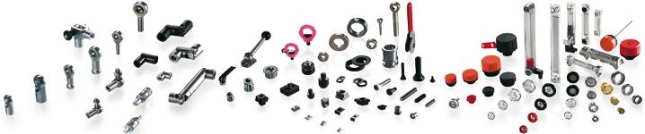 Oferta firmy ELESA+GANTER - przeguby, elementy maszyn, elementy układów hydraulicznych