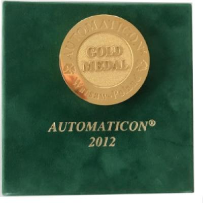 Złoty Medal XVIII Międzynarodowych Targów Automatyki i Pomiarów AUTOMATICON 2012  firmy ANIRO