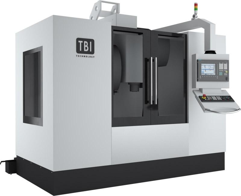 Pionowe centrum obróbkowe TBI Smart Mill