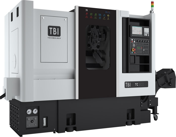 Tokarka ze skośnym łożem TBI TC 300