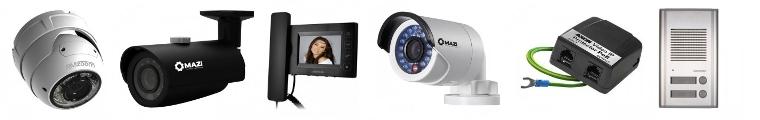 Monitoring IP, domofony, monitoring HD TV firmy GDE Polska