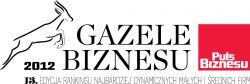 Gazele Biznesu 2012 logo