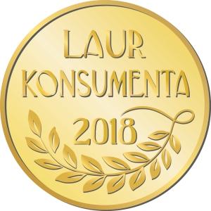 Złoty Laur Konsumenta 2018 dla ELEKTRA