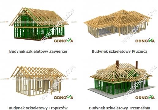 Domy drewniane szkieletowe