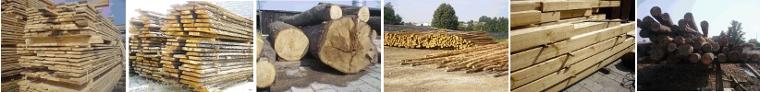Drewno budowlane, deski, bale, podkłady firmy Z.P.U.T.H. Marek Wojtyra