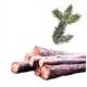 Drewno kominkowe iglaste w wałkach DREWKOM