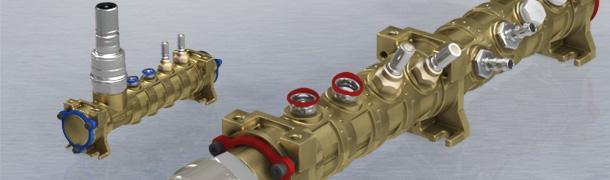 Rozdzielacze Stäubli typu NCI – termoregulacja form wtryskowych